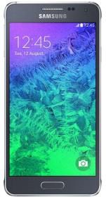 Samsung Galaxy Alpha SM-G850F schwarz