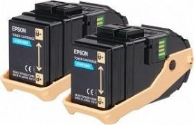 Epson Toner 0604 cyan, 2er-Pack (C13S050608)