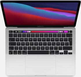 """Apple MacBook Pro 13.3"""" silber, Apple M1, 8GB RAM, 512GB SSD [2020 / Z11D/Z11F] (MYDC2D/A)"""
