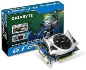 Gigabyte GeForce GT 240, 512MB GDDR5, VGA, DVI, HDMI (GV-N240D5-512I)