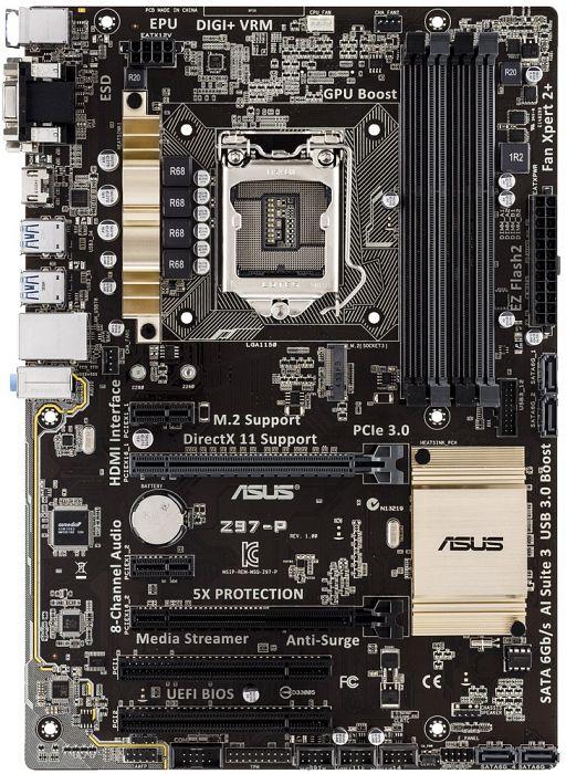 ASUS Z97-P (90MB0JP0-M0EAY0/90MB0JP0-M0EAY5)