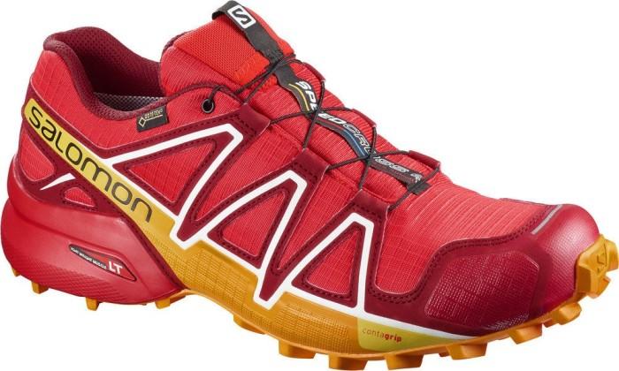 Salomon Speedcross 4 GTX fiery red/red dalhia/bright marigold (Herren) (400932)