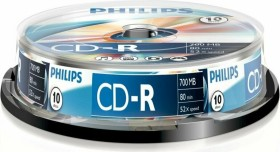 Philips CD-R 80min/700MB, 10-pack Spindle (CR7D5NB10/00)