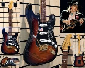 Fender Stevie Ray Vaughan Stratocaster PF 3-Color Sunburst