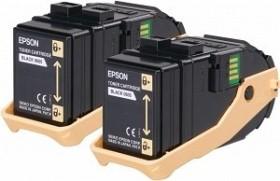 Epson Toner 0605 schwarz, 2er-Pack (C13S050609)