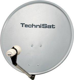 technisat digitalsat 55 grau inkl single lnb 1055 2194 dvb receiver video foto tv. Black Bedroom Furniture Sets. Home Design Ideas