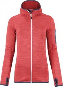 Ortovox Fleece Melange Hoody Jacket hot coral blend (ladies)