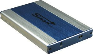 "Inter-Tech SinanPower L-2500 blau, 2.5"", USB 2.0 Micro-B"
