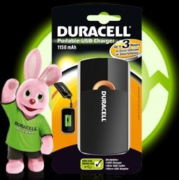 Duracell 3H Portable USB Charger