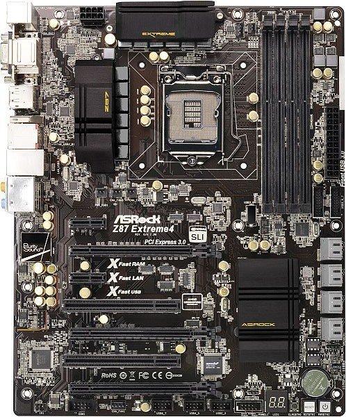ASRock Z87 Extreme4 (90-MXGPC0-A0UAYZ)