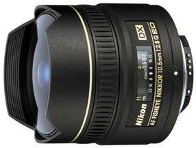 Nikon AF DX 10.5mm 2.8G fisheye black (JAA629DA)