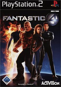 Fantastic Four: The Movie (deutsch) (PS2)