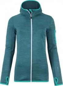 Ortovox Fleece Melange Hoody Jacket aqua blend (ladies)