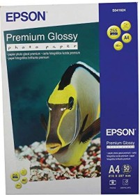 Epson premium photo paper shiny, A4, 255g/m², 50 sheets (S041624)