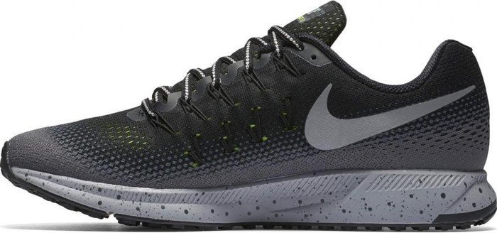 best loved 1ef17 e1b41 Nike Air Zoom Pegasus 33 Shield black dark grey stealth metallic silver (