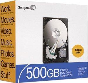 Seagate BarraCuda 7200.9 500GB, 16MB, SATA 3Gb/s retail (ST3500641AS-RK)
