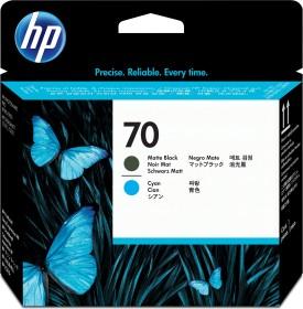 HP Printhead 70 black matte/cyan (C9404A)