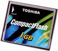Toshiba CompactFlash Card [CF] 1GB