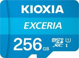 KIOXIA EXCERIA R100 microSDXC 256GB, UHS-I U1, Class 10 (LMEX1L256GG2)