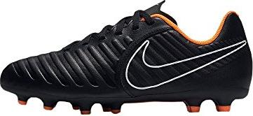 quality design 6bcf8 3c1fd Nike Tiempo Legend Club VII FG black/white/total orange (Junior)  (AH7255-080) from £ 29.99