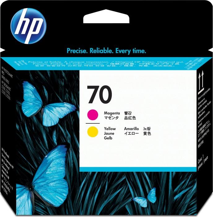 HP 70 Druckkopf magenta/gelb (C9406A)