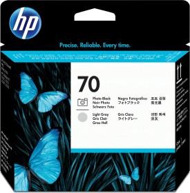 HP Printhead 70 black photo/grey light (C9407A)