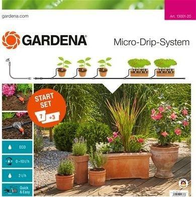 Gardena Micro-Drip-System Planztöpfe M Start-Set (13001)