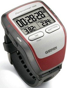 Garmin Forerunner 305 grey/red (010-00467-01)