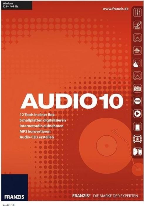 Franzis Audio 10 (deutsch) (PC)