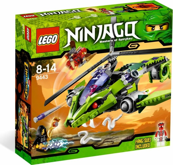 LEGO - Ninjago - Rattlecopter (9443) -- via Amazon Partnerprogramm