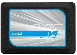 "Crucial v4 SSD 64GB Laptop upgrade kit, 2.5"", SATA II (CT064V4SSD2CCA)"