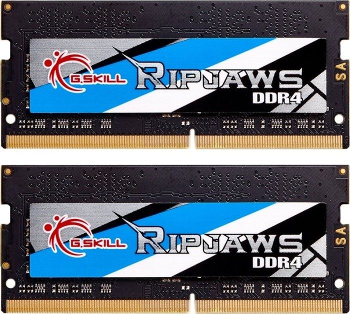 G.Skill RipJaws SO-DIMM kit 8GB, DDR4-2400, CL16-16-16-39 (F4-2400C16D-8GRS)