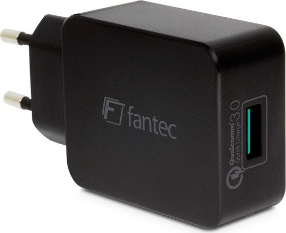 Fantec QC3-A11 Quick Charge 1-Port USB Schnellladegerät (1948)