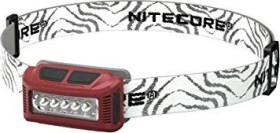 Nitecore NU10 Stirnlampe rot