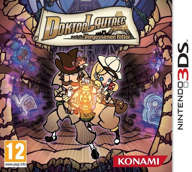 Dr. Lautrec und die vergessenen Ritter (deutsch) (3DS)