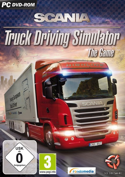 Scania Truck Driving Simulator (German) (PC)