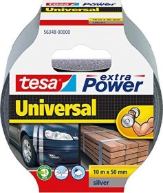 tesa extra Power universal cloth tape grey 50mm/10m, 1 piece (56348-00000)