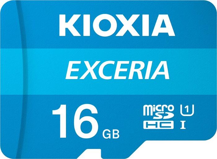 KIOXIA EXCERIA R100 microSDHC 16GB, UHS-I U1, Class 10 (LMEX1L016GG4)