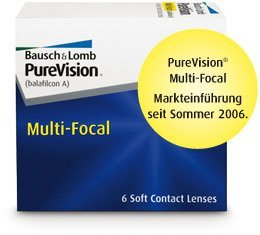 Bausch&Lomb PureVision Multi-Focal, +0.00 Dioptrien, 6er-Pack