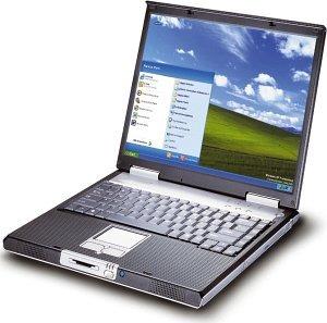 Maxdata Pro 8100X, Pentium-M 735 1.70GHz (various types)