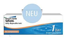 Bausch&Lomb SofLens daily disposable toric for Astigmatism, 30-pack
