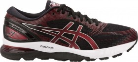 Asics Gel-Nimbus 21 black/classic red (Herren) (1011A169-002)