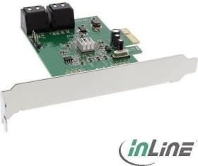 InLine 76617E, 4x SATA, PCIe 2.0 x1
