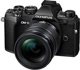 Olympus OM-D E-M5 Mark III schwarz mit Objektiv M.Zuiko digital ED 12-45mm 4.0 PRO (V207092BE000)