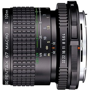 Pentax smc 67 100mm 4.0 macro black (29840)