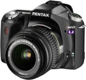 Pentax *istDL2 schwarz mit Objektiv DA 18-55mm und DA 50-200mm (1852601)