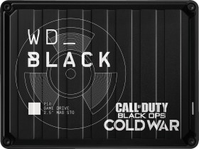 Western Digital WD_Black P10 Game Drive 2TB, USB 3.0 micro-B, Special Edition Call of Duty Black Ops Cold War (WDBAZC0020BBK-WESN)
