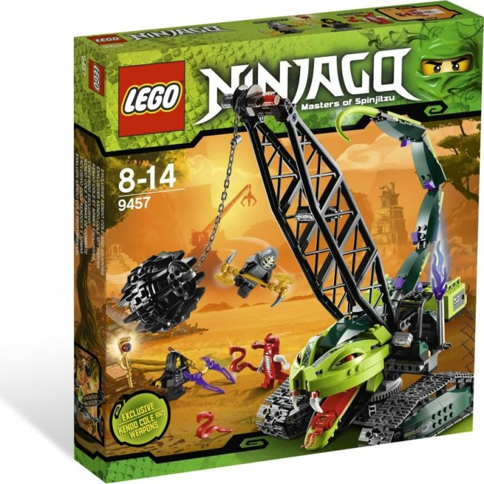 LEGO - Ninjago - Fangpyre Wrecking ball (9457) -- via Amazon Partnerprogramm