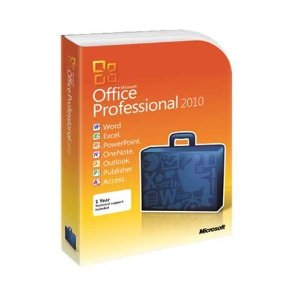 Microsoft: Office 2010 Professional, PKC (English) (PC) (269-14834)