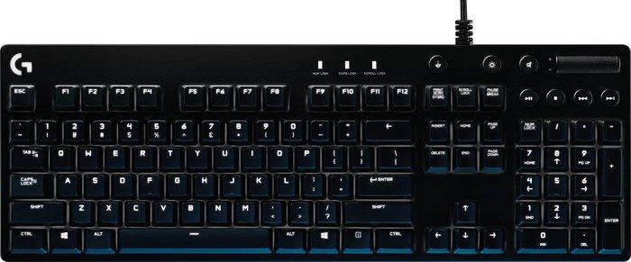 Logitech G610 Orion Brown, MX BROWN, USB, DE (920-007859)